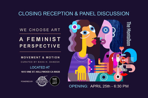 A Feminist Perspective Exhibition Flier