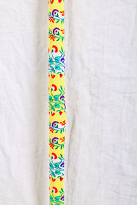 Yellow Floral Cane Skin
