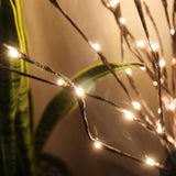 Natale LED Willow Branch Lamp flower-patterned