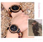BOBO BIRD Wood watch Lover Couple Watches Men Show Date Ladies Wristwatch Women Quartz Male bayan kol saati Gift in Wood Box