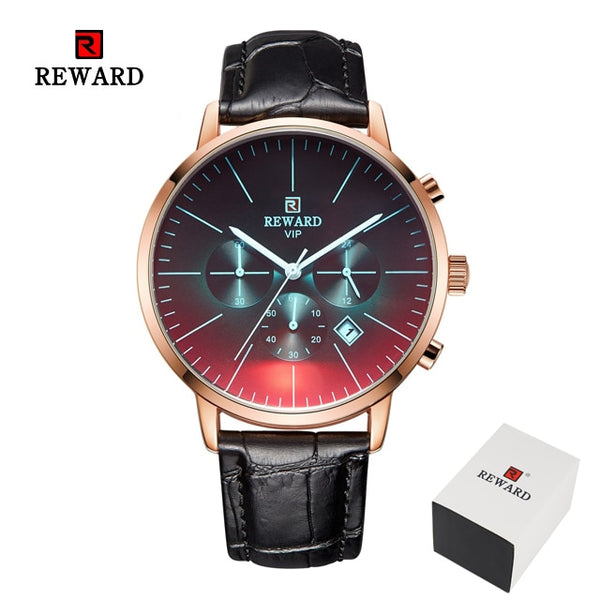 Color Bright Glass Watch Men Top Luxury Brand