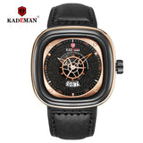 Luxury Men Watches New Fashion Square Quartz