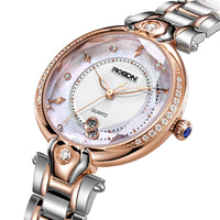 Luxury Brand ROSDN Women's Watches Japan MIYOTA GL10 Quartz Movement Sapphire Watch Lady 50M Waterproof Diamond Ultra-thin R3236