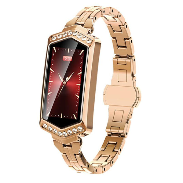 Women's fashion B78 color screen smart watch blood pressure heart rate monitoring IP67 physiological period GPS track bracelet