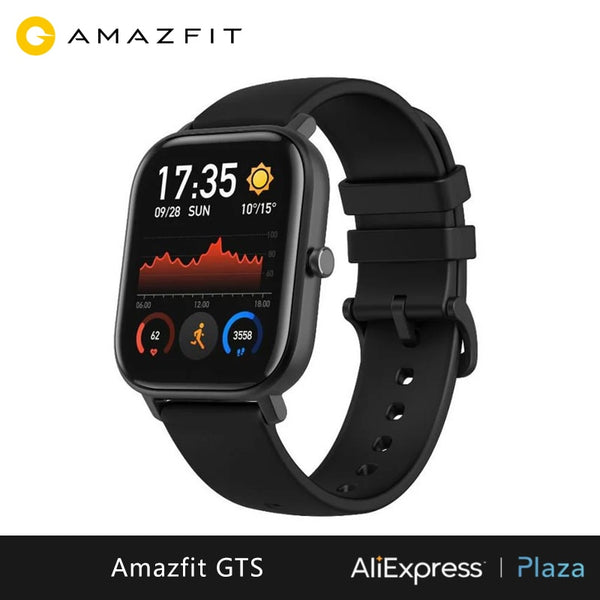 Xiaomi Huami Amazfit GTS Smartwatch (new, smart watch, waterproof swimming, bluetooth, GPS, sport) [Global Version]