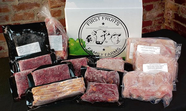 All Natural Meats Crate