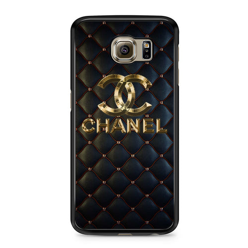 Chanel Gold Diamond Red Samsung Case