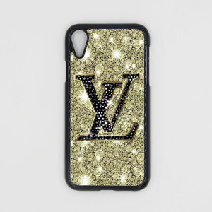 best website 83e50 e8d5e Louis Vuitton Crystal Gold iPhone XR/XS/XS Max Case