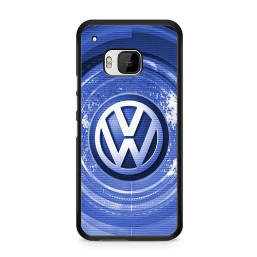 VW Car Logo Blue New HTC Case