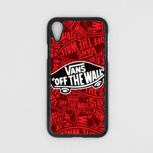 low priced 4780f e5f90 Vans Red iPhone XR/XS/XS Max Case
