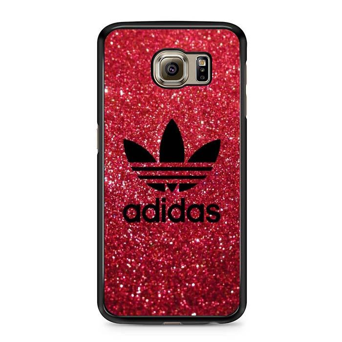adidas logo red Samsung Case