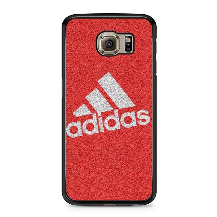 adidas red background Samsung Case