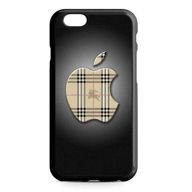 burberry apple iPhone Case