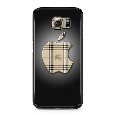 burberry apple Samsung Case