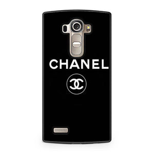 chanel black logo LG Case