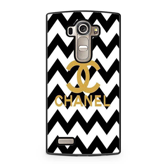 chanel black white LG Case