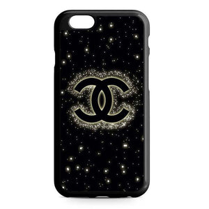 chanel bling black iPhone Case
