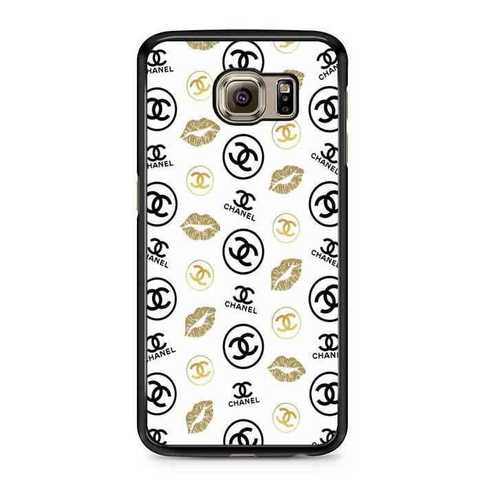 chanel logo lips Samsung Case