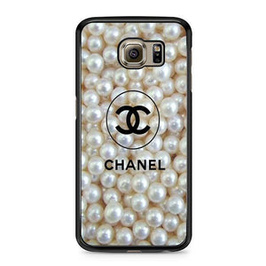 chanel pearls Samsung Case