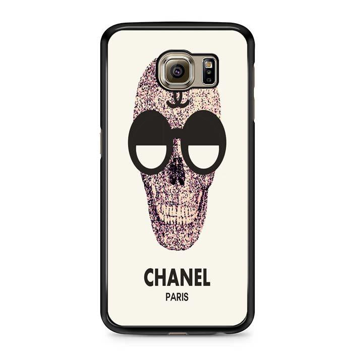 chanel skull Samsung Case