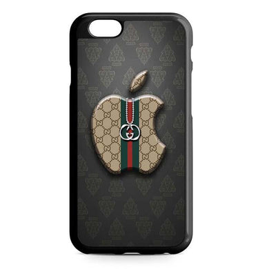 gucci apple logo iPhone Case