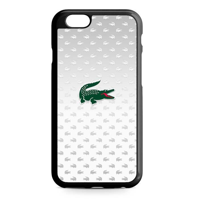 lacoste pattern iPhone Case