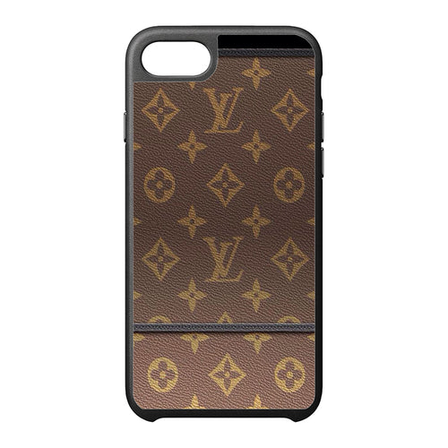 louis vuitton leather iPhone Case