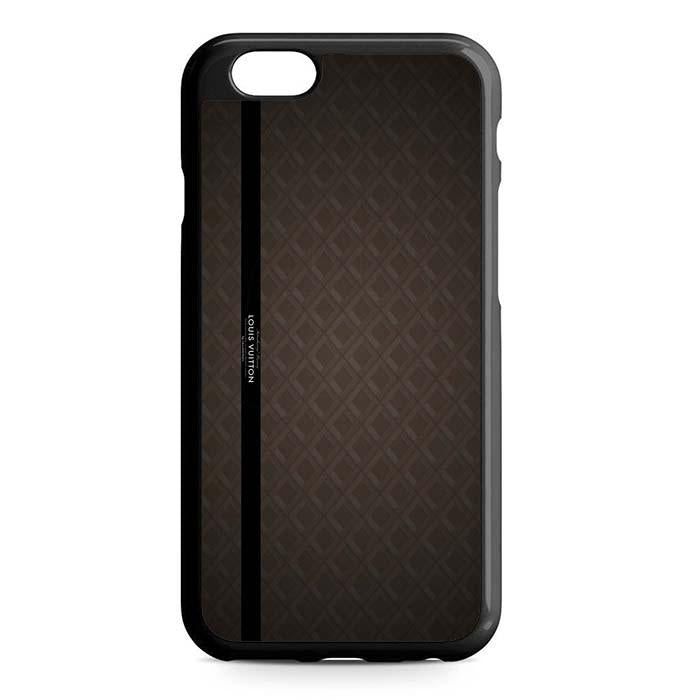 louis vuitton brown logo iPhone Case