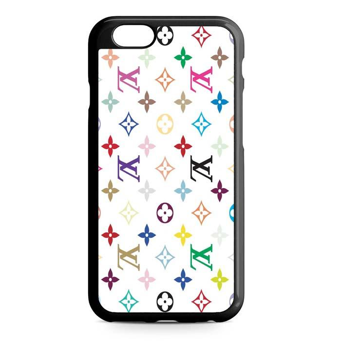louis vuitton white iPhone Case