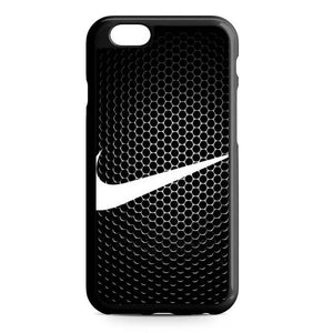 nike metal iPhone Case