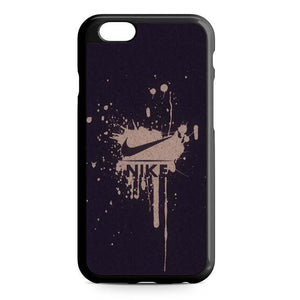 nike paint iPhone Case