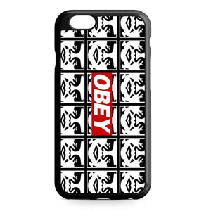 obey logo iPhone Case
