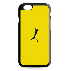 puma yellow iPhone Case