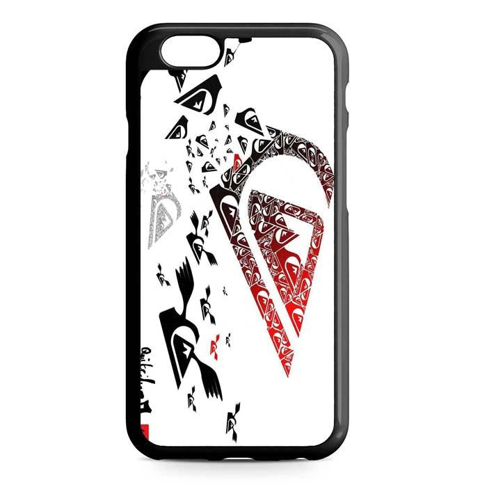 quiksilver logo iPhone Case