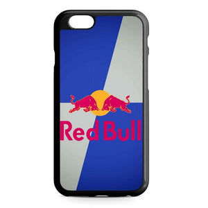 red bull blue iPhone Case