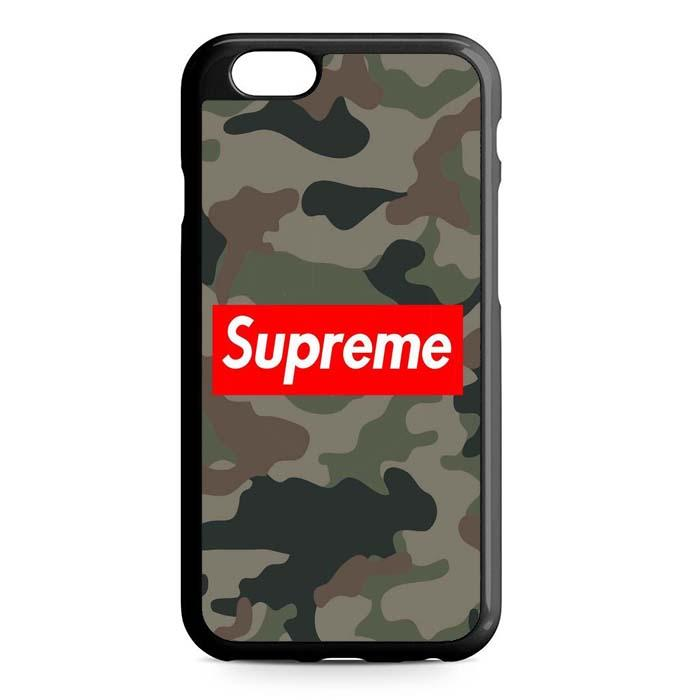 supreme army iPhone Case