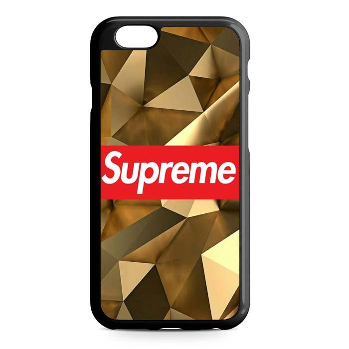 supreme brown iPhone Case