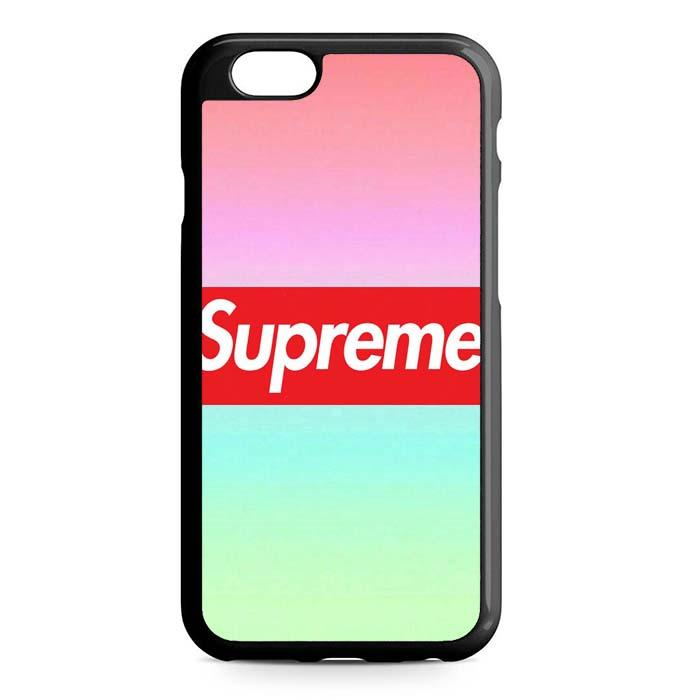 supreme pink iPhone Case