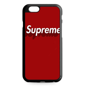 supreme red iPhone Case