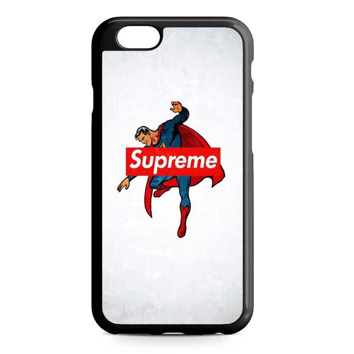 supreme superman iPhone Case