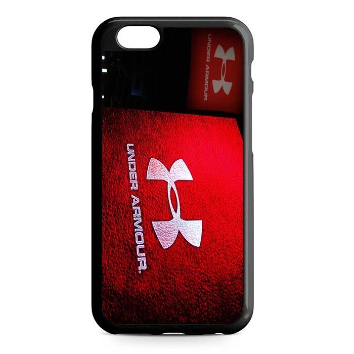 under armour logo red iPhone Case