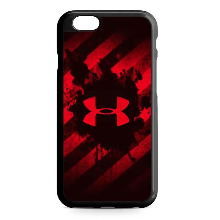 under armour red iPhone Case