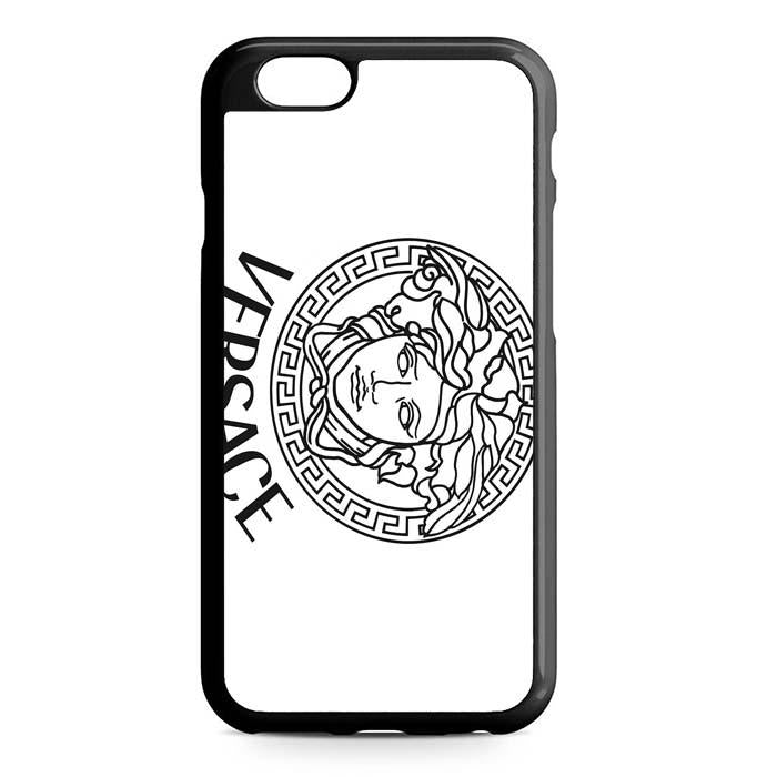 versace white iPhone Case