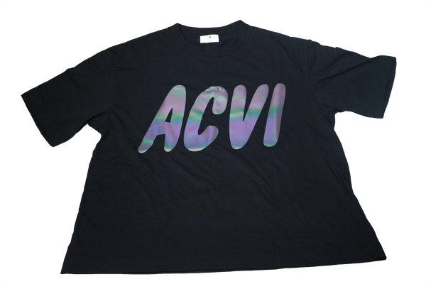 ACVI Reflector T-shirts BLACK