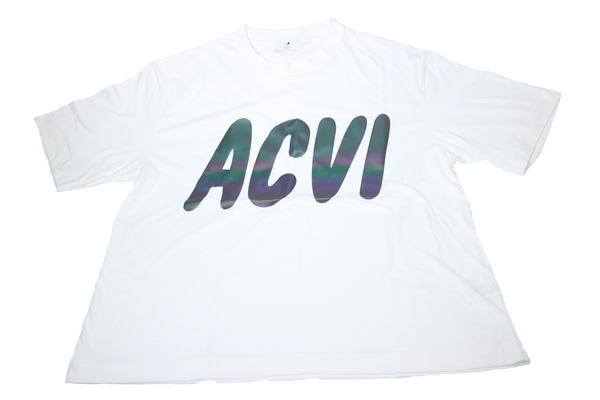 ACVI Reflector T-shirts WHITE