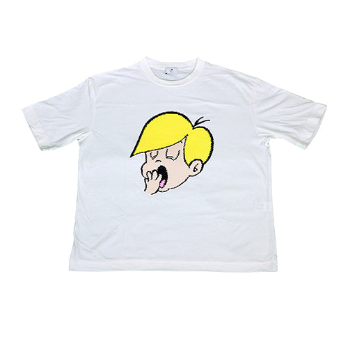 ACVI SPANGLE T-shirts ACVI BOY OFF-WHITE