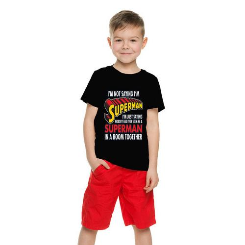I'm Not Saying I'm Superman... Funny Kids T-Shirt