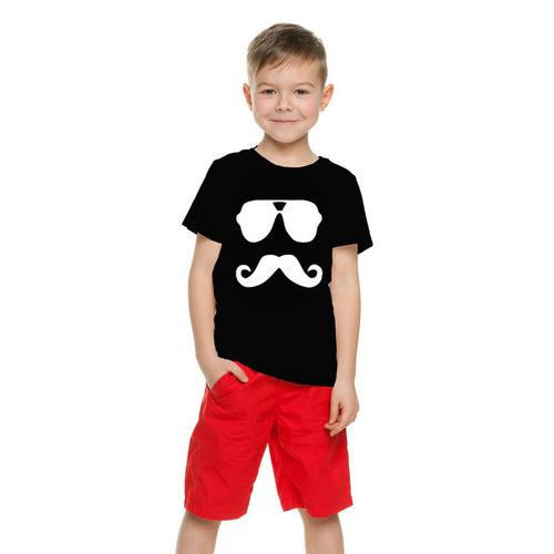 Mustache Face Kids T-Shirt