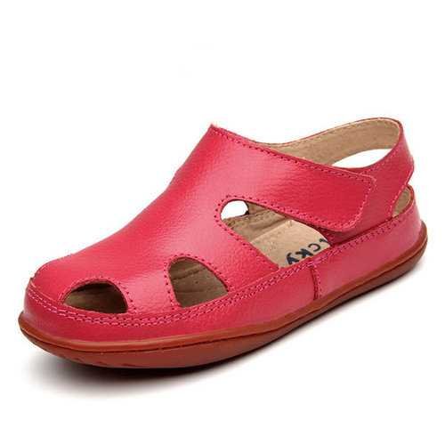 Unisex Children Soft  Hollow Sandals