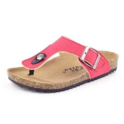 Kids Unisex Flip Flops Softwood Cork Slippers